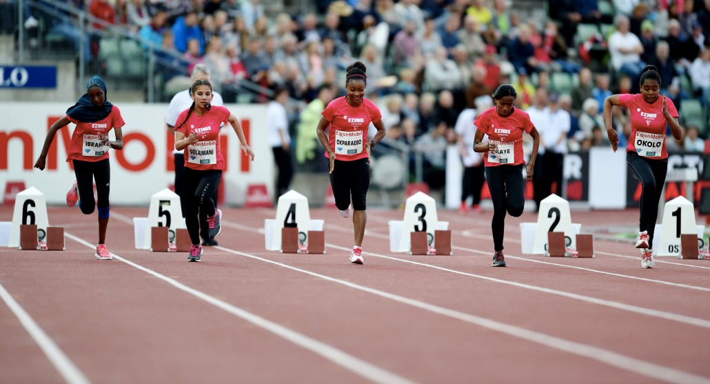 Friidrett , 9. juni 2016 , Diamond League , Bislett Games Athletics , Ezinne Okparaebo athletics